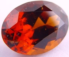 Hessonite gemstone, orange cinnamon garnet, exclusive loose faceted hessonites, hessonite shopping