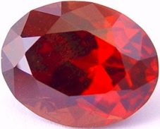11.71 carats Oval Malaya garnet gemstone, red orange garnets, exclusive loose faceted malaya garnets, pyrope spessartite shopping