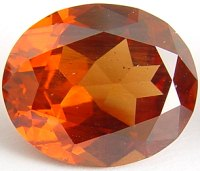 9.28 carats Oval Malaya garnet gemstone, orange garnets, exclusive loose faceted malaya garnets, pyrope spessartite shopping
