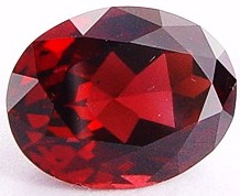 10.97 carats oval natural Rhodolite garnet gemstone, red purple garnet, exclusive loose faceted rhodolite garnets, gemstones shopping