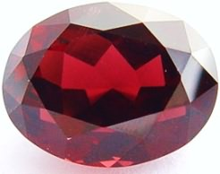 10.97 carats oval Rhodolite garnet gemstone, red purple garnet, exclusive loose faceted rhodolite garnets, gemstones shopping