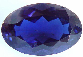 21.12 carats oval iolite gemstone, blue gems, exclusive loose faceted iolites, gemstones shopping