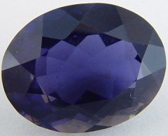 6.50 carats oval iolite gemstone, blue gems, exclusive loose faceted iolites, gemstones shopping