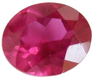 0.56 carats oval ruby gemstone, transparent gems, exclusive loose faceted rubies, gemstones shopping