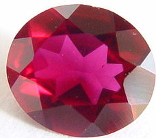 0.59 carats ruby gemstone, transparent gems , exclusive loose faceted rubies, gemstones shopping