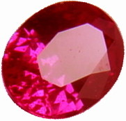 0.70 carats ruby gemstone, transparent gems, exclusive loose faceted rubies, gemstones shopping