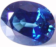 4 carats untreated blue sapphire gemstone, transparent gems, exclusive loose faceted sapphires, gemstones shopping