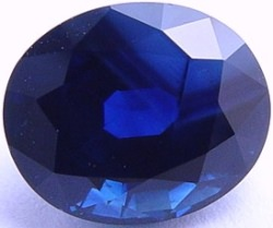 8.05 carats untreated blue sapphire gemstone, transparent gems, exclusive loose faceted sapphires, gemstones shopping