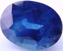 2.84 carats untreated blue sapphire gemstone, transparent gems, exclusive loose faceted sapphires, gemstones shopping