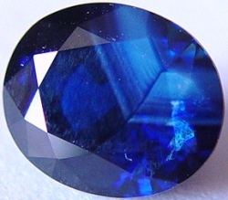 8.05 carats unheated blue sapphire gemstone, transparent gems, exclusive loose faceted sapphires, gemstones shopping