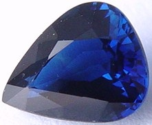 2.01 carats Pear sapphire, untreated blue sapphires, exclusive loose faceted sapphire, natural sapphire shopping