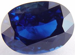3.72 carats untreated royal blue sapphire gemstone, transparent gems, exclusive loose faceted sapphires, gemstones shopping
