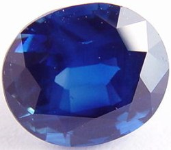 3.83 carats untreated blue sapphire gemstone, transparent gems, exclusive loose faceted sapphires, gemstones shopping