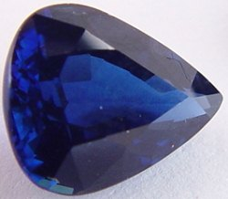 2.01 carats Pear sapphire, blue sapphires, exclusive loose faceted sapphire, natural sapphire shopping