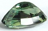 Oval Green sapphire gemstone, exclusive loose faceted sapphires, Madagascar gemstones shopping