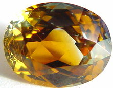 Yellow sapphire gemstone, exclusive loose faceted sapphires, Madagascar gemstones shopping