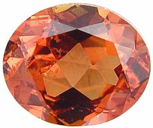 orange sapphire gemstone, exclusive loose faceted ilakaka sapphires, Madagascar gemstones shopping