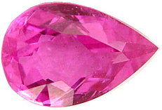 2.18 carat pear pink sapphire gemstone, transparent gems, exclusive loose faceted sapphires, untreated gemstones shopping