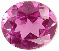 1.63 carat oval pink sapphire gemstone, transparent gems, exclusive loose faceted sapphires, untreated gemstones shopping