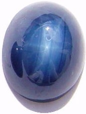 untreated blue star sapphire gemstone, cabochon gems, exclusive loose sapphires, gemstones shopping