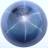 round blue star sapphire gemstone, cabochon gems, exclusive loose sapphires, Madagascar gemstones shopping