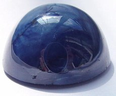 big blue star sapphire gemstone, cabochon gems, exclusive loose sapphires, Madagascar gemstones shopping