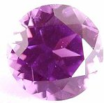 round Violet sapphire gemstone, transparent gems, exclusive loose faceted sapphires, untreated gemstones shopping